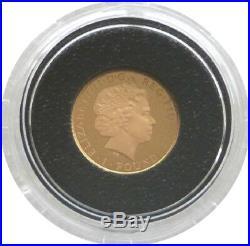 2014 British Royal Mint Britannia £1 One Pound Gold Proof Coin