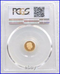 2014 British Royal Mint Britannia £1 One Pound Gold Proof Coin PCGS PR69 DCAM