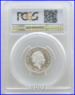 2015 Royal Arms Piedfort £1 One Pound Silver Proof Coin PCGS PR69 DCAM