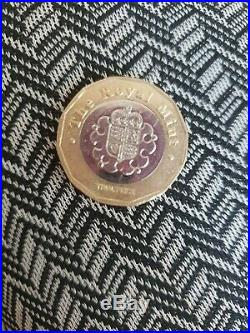 2015 Royal Mint Trial Piece One Pound £1 Coin genuine