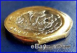 2016 One Pound £1 Nations Of The Crown Bi-metallic Strike/ DIE ERROR Rare