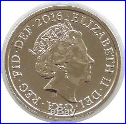 2016 Royal Shield of Arms BU £1 One Pound Coin Uncirculated Fifth Portrait