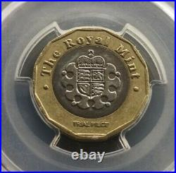 2016 Trial Piece £1 One Pound Coin Bimetallic Extremely Rare Genuine Graded Mule