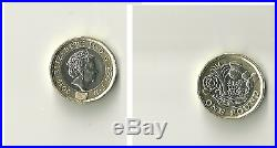 2017 12 sided one pound coin (£1) Error 2016