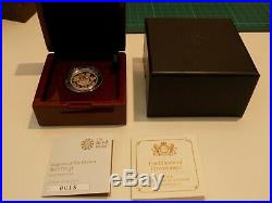 2017 Gold Proof One Pound Coin £1 Nations Of The Crown With Box And COA