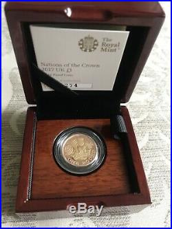 2017 Nations Of The Crown Gold One Pound Coin