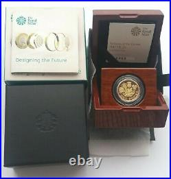 2017 Nations of The Crown Gold Proof One Pound £1 Coin
