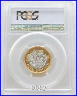 2017 Nations of the Crown Piedfort £1 One Pound Silver Proof Coin PCGS PR69 DCAM