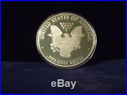 2017 Proof Silver Eagle ONE TROY POUND. 999 fine silver 12 TROY OUNCES IN STOCK
