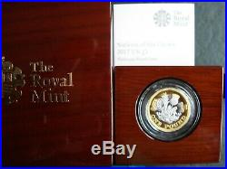 2017 Royal Mint Nations of the Crown £1 One Pound Platinum Proof Coin Box + cert