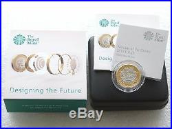 2017 Royal Mint Nations of the Crown £1 One Pound Silver Proof Coin Box Coa