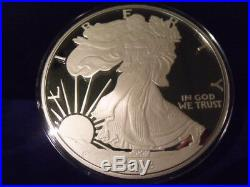 2018 Proof Silver Eagle ONE TROY POUND 12 troy ounces BEAUTIFUL