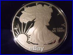 2018 Proof Silver Eagle ONE TROY POUND. 999 fine silver 12 TROY OZ IN STOCK NOW