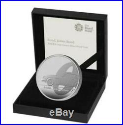 2020 James Bond One Ounce Silver Proof Coin TWO POUND COIN SOLD OUT