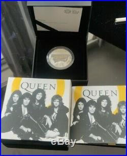 2020 Queen Royal Mint 1 Oz one ounce Silver proof 2 pounds coin
