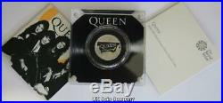 2020 Queen Royal Mint Half Oz Silver proof £1 One Pound coin Music Legends