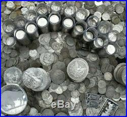 2020 SALE 1 One Troy Pound LB U. S. Mixed Silver Coins NO JUNK Huge Lot