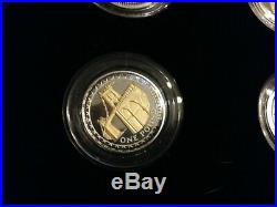 25th Aniversary Silverproof One Pound Collection