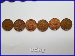 £5 £1 50p 20p 1p 2p 3p 6p 5p COIN Half Penny RARE FIFTY PENCE One Pound Golden