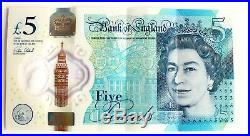 £5 AK47 666 2 Rare Numbers In One Note Five Pound Collectable Bank Of England