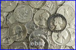 90% Lot US Junk Silver Coin 1/2 Pound LB 8 OZ. Pre-1965 Washington Quarter ONE