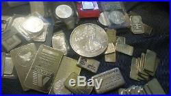 999 Fine One Half Pound Pure Silver Round 2009 US Eagle Walker Design