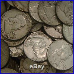 ATTN CHEAP BULLION One Half (1/2) Troy Pound 90% Silver US Coins Half Dollars