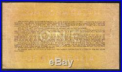 Australia 1917(18) War Savings Certificate for One Pound. Collins signature