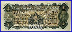 Australia 1932. One Pound Banknote. First Prefix. K 75
