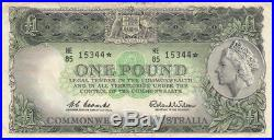 Australia 1961 Coombs Wilson One Pound Replacement near VF