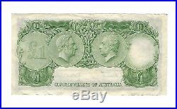 Australia One (1) Pound 1953 FIRST PREFIX HA/00! Low Serial