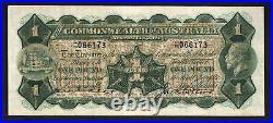 Australia R-24L. (1926) One Pound Kell/Collins. Last Prefix H/80. GVF Crisp
