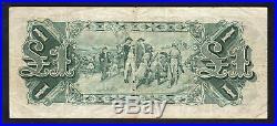 Australia R-26. One Pound (1927) Riddle/Heathershaw. George V Portrait. AVF