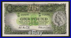 Australia R-33. (1953) Coombs/Wilson One Pound. Commonwealth Bank. GEF-aUNC