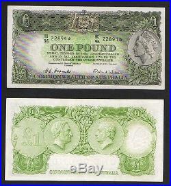 Australia R-33s. 1953 Coombs/Wilson One Pound STAR NOTE. GVF