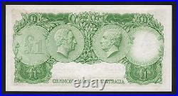 Australia R-34. (1961) One Pound. Coombs/Wilson. Reserve Bank. AU-UNC