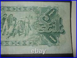 Australia early one pound note George V Riddle Heathershaw 1927 estate
