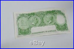 Australian 7 Consecutive Coombs/Wilson One Pound Banknotes EF R34b 1961 (1)