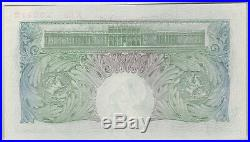 B225 Basil Gage Catterns K89 One Pound Note In Near Mint Condition