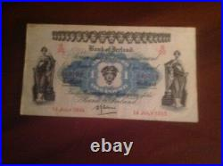 Bank off ireland 14 july 1943 one pound note