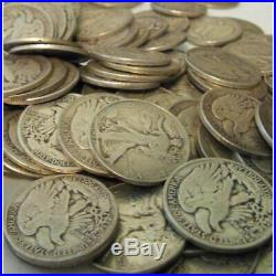 Barter Bag # 1 One Troy Pound 90% Silver U. S. Coins Mixed Halves Qters Dimes