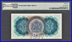 Bermuda 1957 One Pound QEII Pick-20c GEM UNC PMG 66 EPQ