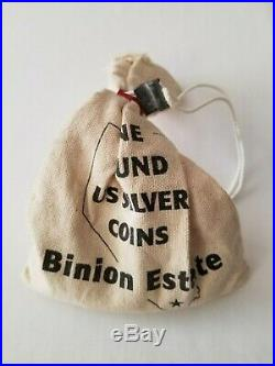 Binion Estate One Pound US Silver Coins