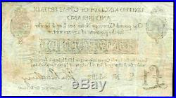 Bradbury. One Pound, C1/2 85492, (1914), Very Fine
