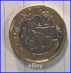 Brand new one pound coin 2016 wrong date, not 2017