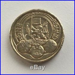 Cheapest £1 Coins Round One Pound Edinburgh Cardiff London Floral Royal Arms