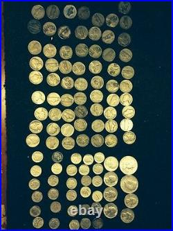 DEAL OF THE SUMMER! Lot Old US Junk Silver 101 Coins 1 Pound LB Pre-1965 Dates