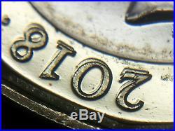 Double Die Struck Royal Mint Error 2018 One £1 Pound Coin Unc Condition
