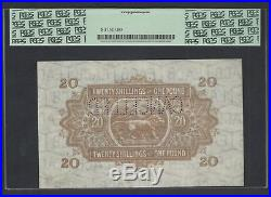 East Africa 20 Shilling One Pound 1-1-1933 P22s Specimen About Uncirculated