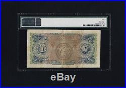 Egypt One Pound 1924 P-18 PMG 30 Very Fine SCARCE Condition